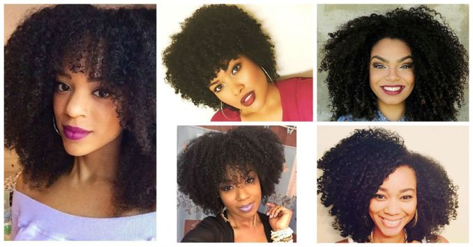 Kinky Curly Hairstyles Cover - Amillionstyles