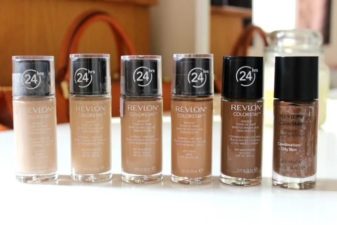 revlon colorstay foundation