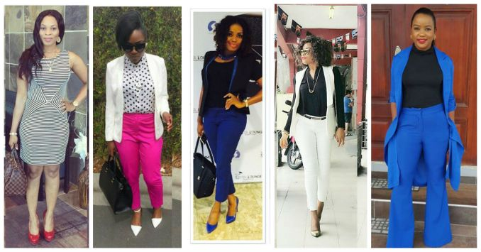 Sophisticated Office Outfits amillionstyles.com 2016