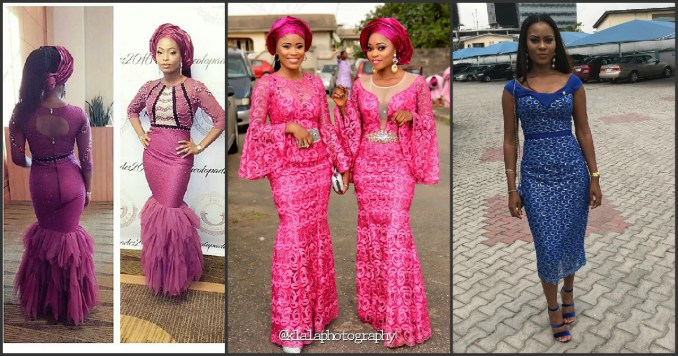 Helping You Slay In Latest Aso Ebi Styles amillionstyles