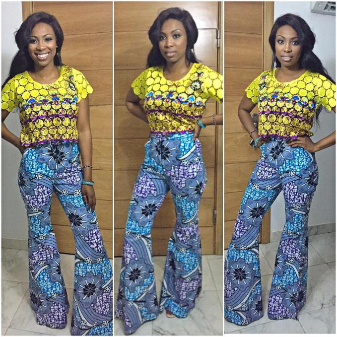 Leave It To Bolanle @bolinto to Make Ankara Print Look Effortlessly stylish.