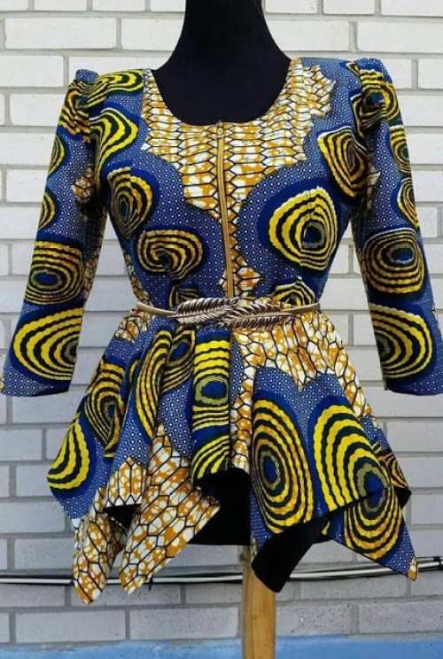 African Two Layer Skirts