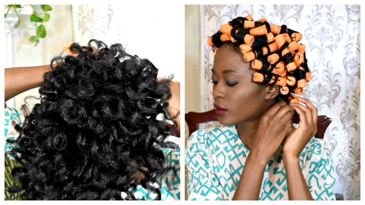 Video: Curling Hair Using Cold Perm Rods
