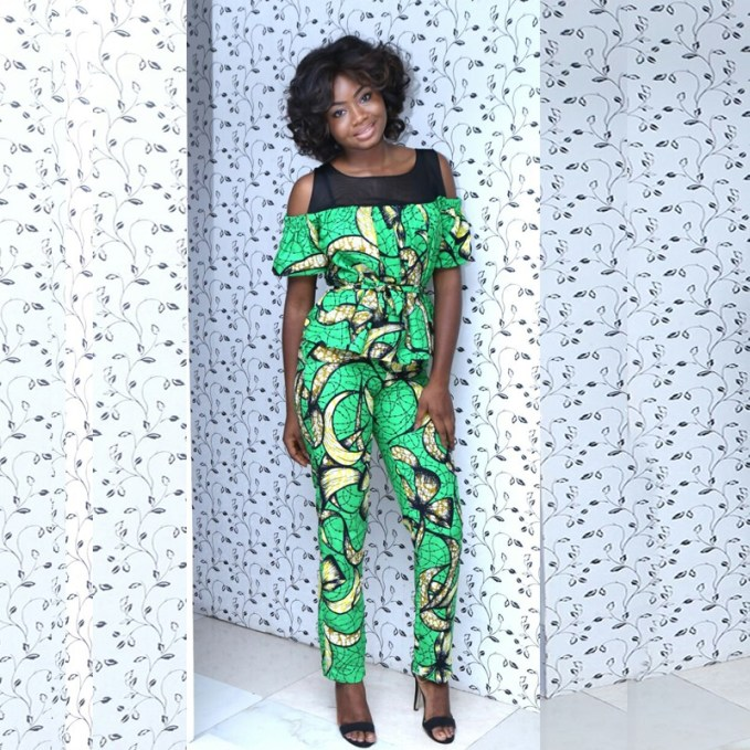 Sexy Ankara Cold Shoulder Styles