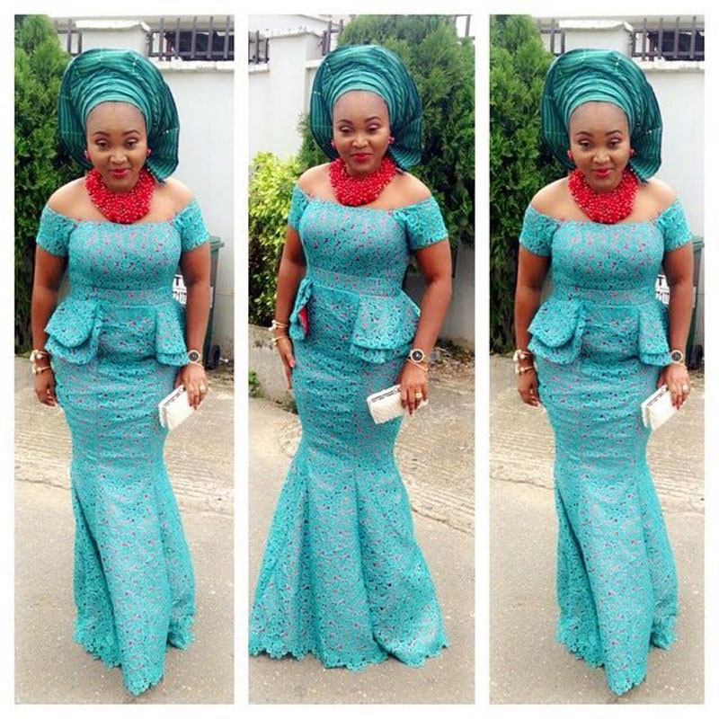 Peplum Aso Ebi Look Book Series