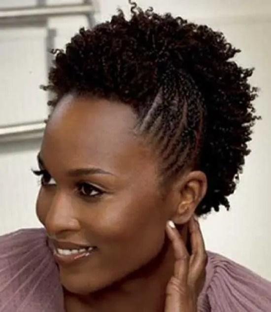 Short Hairstyles for Short Natural Hair