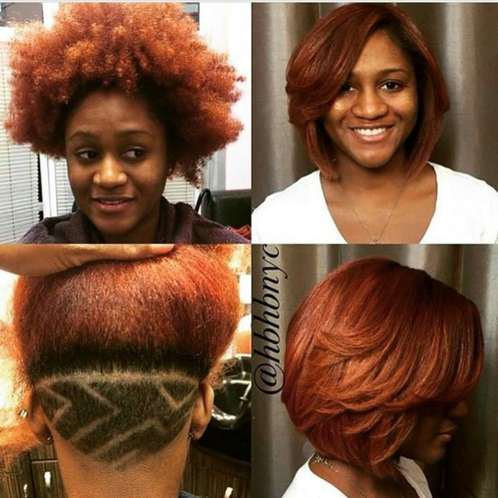 Natural Hair Magic: The Switch From Curls to Sleek