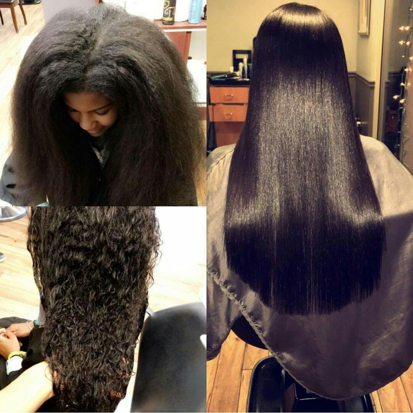 Natural Way To Straighten Hair At Home