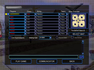Generals Multiplayer