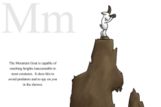M is for Mountain Goat