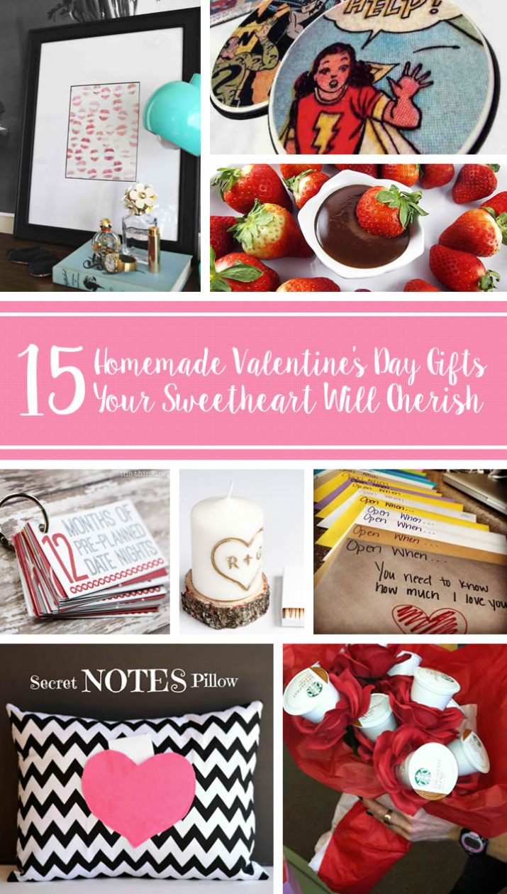 15 DIY Gifts Your Sweetheart Will Cherish This Valentine's Day