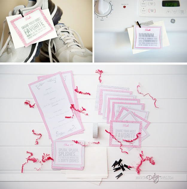 Homemade Valentine's Day Gifts: Scavenger Hunt