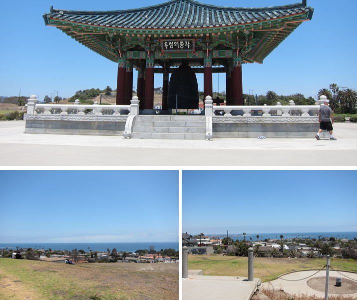 Korean Friendship Bell in San Pedro, CA