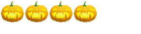 4 Pumpkins: Rated Very Scary
