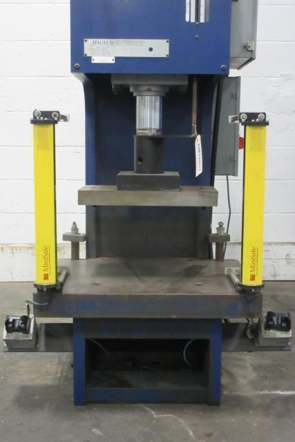 24 1 2 Ton Magnum Hbm 25a C Frame Hydraulic Press