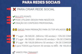 03 EMOJIS PARA REDES SOCIAIS CRIAR DESCRIÇÃO