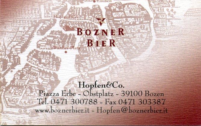 Trattoria Hopfen  Co Bolzano BZ  aMioParere