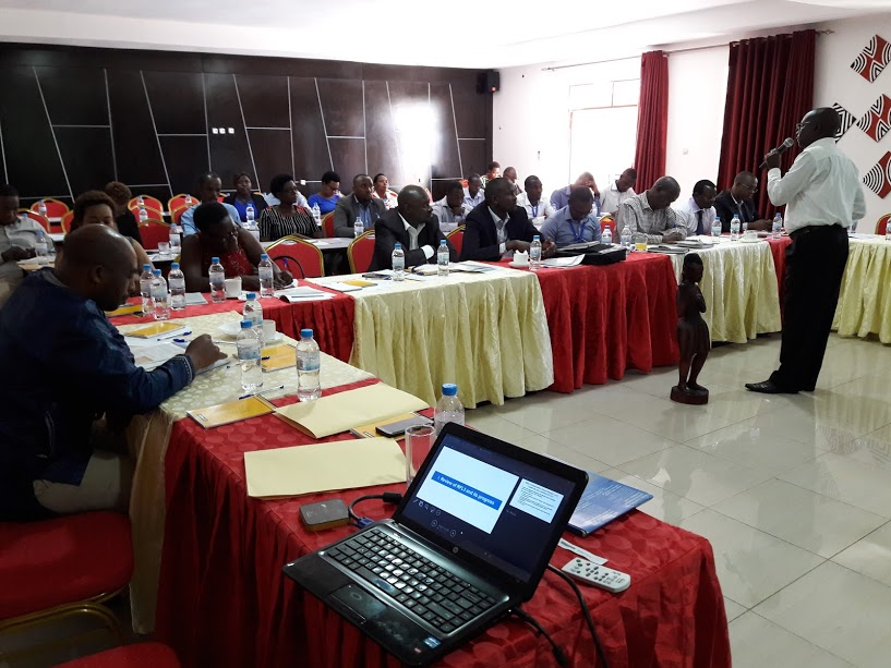 Stakeholders meeting on client protection in the Rwandan financial sector