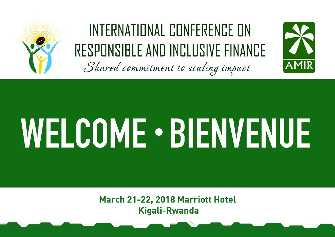 Rwanda to host next week:  International Conference on Responsible and Inclusive Finance