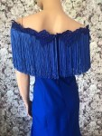 Abendkleid Übergröße Blau