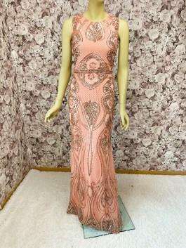 Abendkleid Meerjungfrauenkleid Pailletten