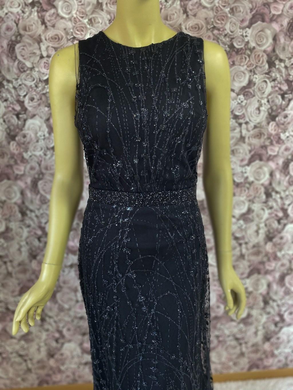 schwarzes Abendkleid-Partykleid
