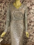 Extravagantes Abendkleid Gold