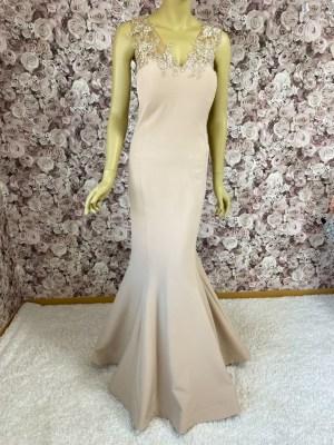 Abendkleid-Übergröße- Meerjungfrauenkleid-