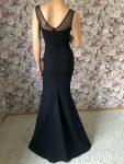 Abendkleid schwarz schlicht