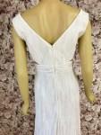 Kleid fließend weiß