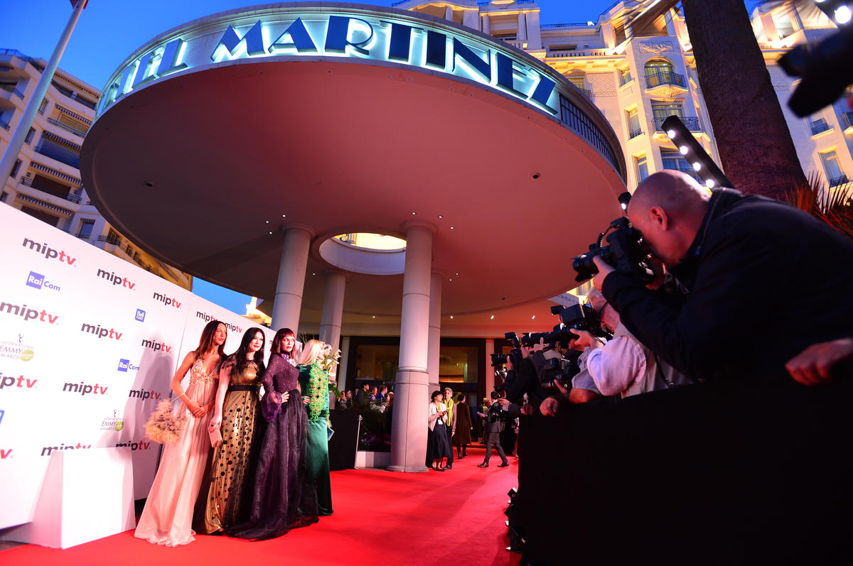 MIPTV 2015 - EVENT - MIPTV OPENING PARTY - RED CARPET