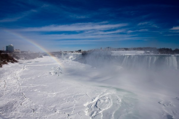 Rainbow Bridge, Niagare Falls, January 30, 2014
