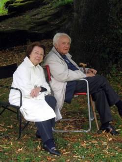 Le docteur Cugnier avec son épouse Monique