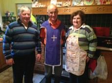 Knight of Saint Colombanus d'un matin avec Rody et Margaret qui me reçoivent pour la seconde fois