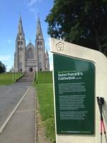 Sur le chemin de Saint Patrick à partir d'Armagh jusqu'à Bangor