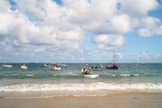 L'arrivée par la mer...