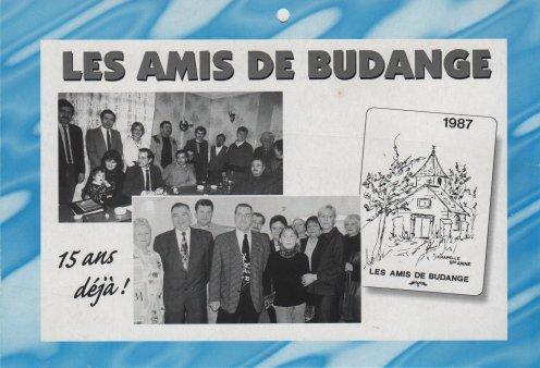 Calendrier anniversaire de l'année 1998 (ne pas se fier à la date en haut à droite qui correspond à l'année du dessin de la chapelle)