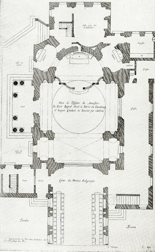 Plan de la chapelle