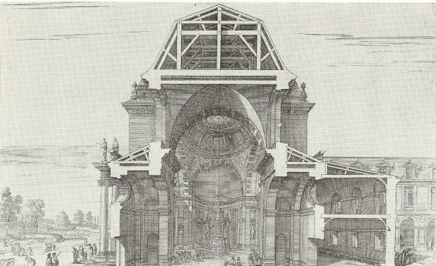 Projet de l'église de Port-Royal de Paris