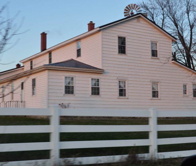 Amish Farmhouses Feature Some Special Meals On Sundays And Any Day