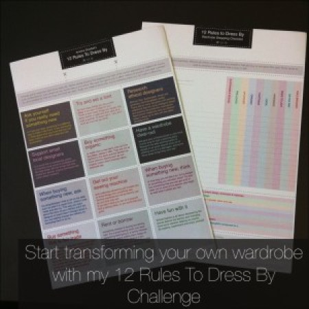 12 Rules To Dress By