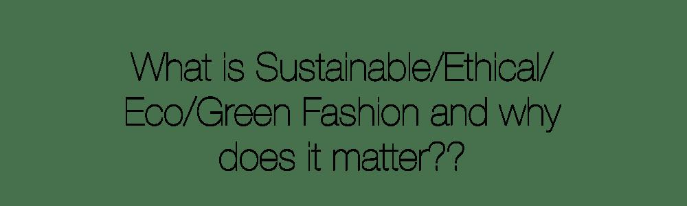 Amisha - Sustainable Fashion