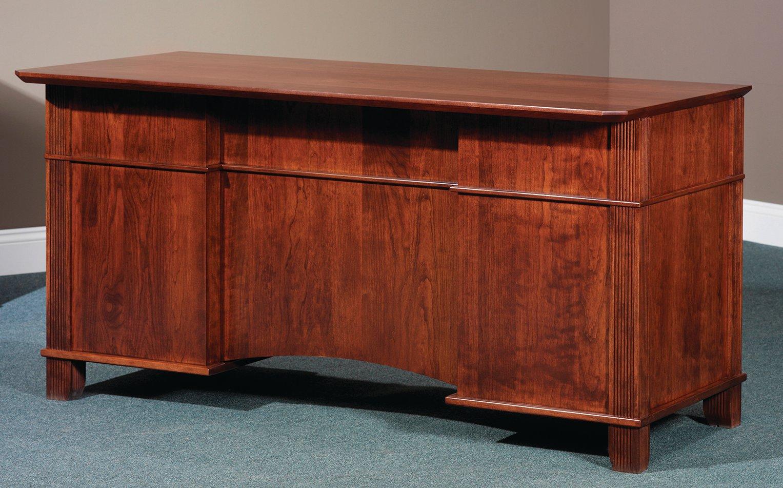 Arlington Solid Wood Executive Desk