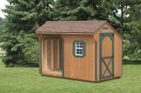 Storage Sheds PA | Outdoor Wood Storage Shed - Amish ...