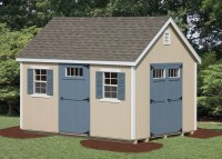 New England Shed - Vinyl | Amish Backyard Structures