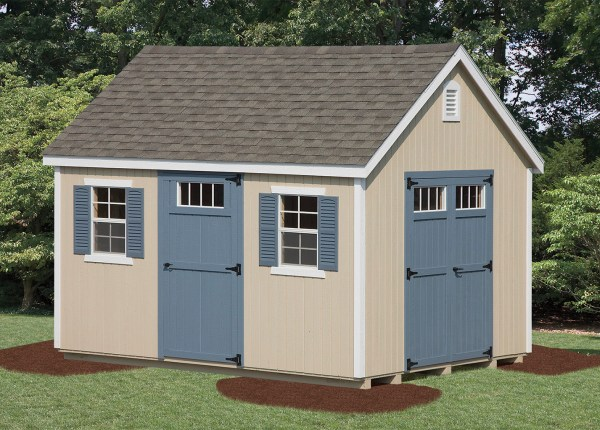 England Shed - Vinyl Amish Backyard Structures
