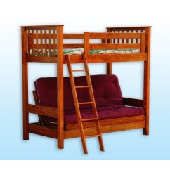 Loft Bed With Desk And Futon Chair Hammock Stand Amazon Amish Crafted Furniture
