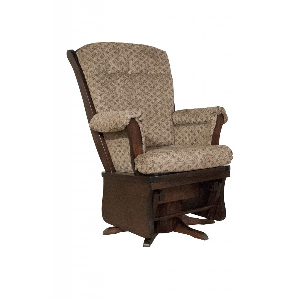 Sleigh Back Glider Rocker Amish Crafted Furniture