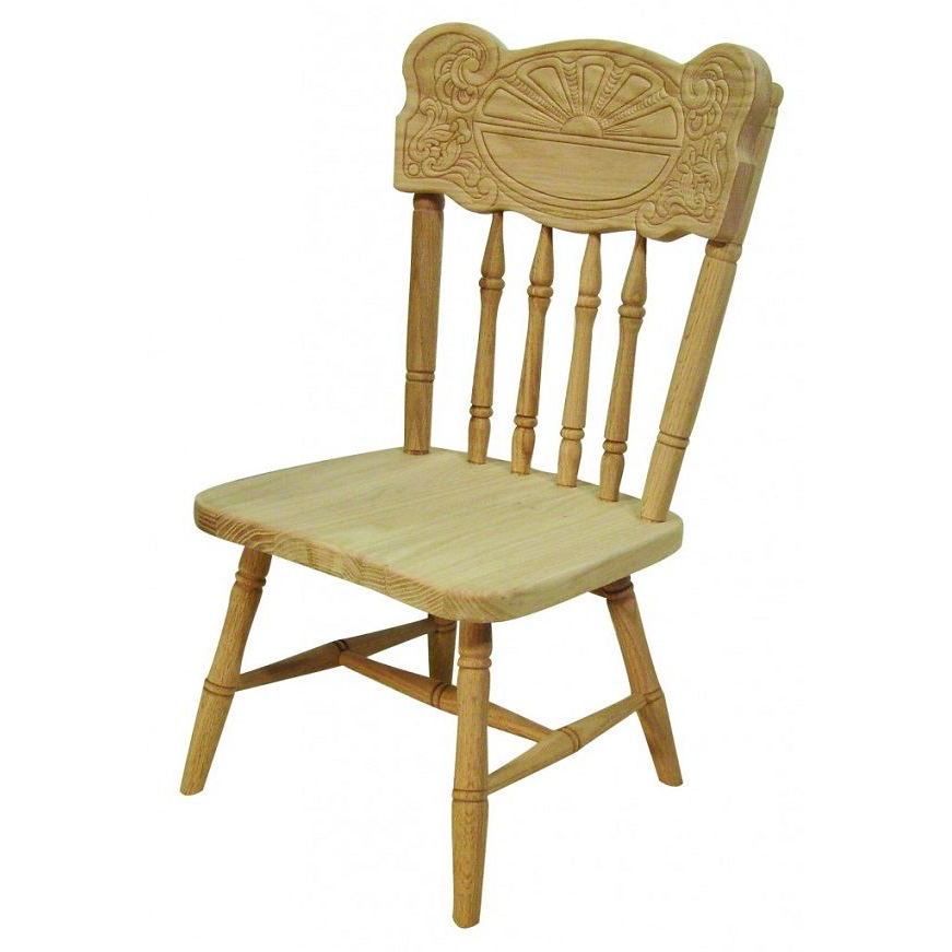 Sunburst Child's Chair, High Chair, Or Youth Chair