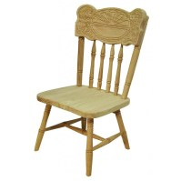 Sunburst Child's Chair, High Chair, Or Youth Chair - Amish ...